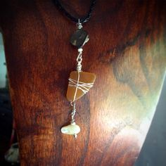 A personal favourite from my Etsy shop https://www.etsy.com/au/listing/495216641/seaglass-necklet-brandy