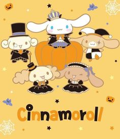 ❤ HALLOWEEN IS ALMOST HERE ❤ Cinnamoroll is preparing for the cutest Halloween party with his adorable friends! How have you prepared for the Halloween? (*⌒▽⌒*)θ~♪