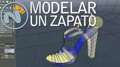 Modelado y render de un zapato (version completa)