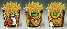 Reminds me of this. Dio Brando from JoJo's Bizarre Adventure ...