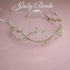 Find More Hair Jewelry Information about Crystal Bridal Hair Vine Flower Crown Wedding Hair Accessories,High Quality accessories wedding hair,China hair accessories long hair Suppliers, Cheap hair accessories brand from ONLY BRIDE on Aliexpress.com
