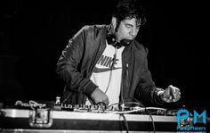 CHINO MORENO DJ SET.  I been there...right in front of him during a DJ set.....♥♥♥