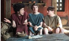 """How """"Plebs"""" Gets Laughs from the Past (a new ITV sitcom) @ TheGuardian"""