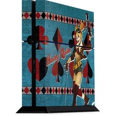 Harley Quinn Playstation 4 PS4 Console Skin
