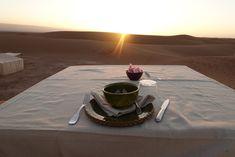 Sunrise coffee, Dar Ahlam Private Tent Camp, Sahara Desert, Morocco