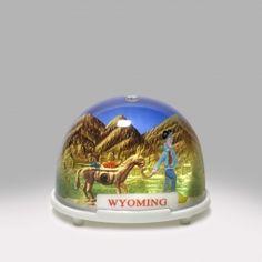 Wyoming Miner Snow Globe