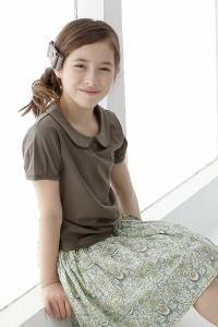 Neutral and modest clothing for girls from Japan Parler Chiffons International webshop.pci-shop.co.jp