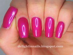 Delight In Nails: OPI Flashbulb Fuchsia