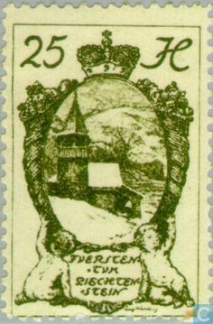 Liechtenstein - Kapellen 1920