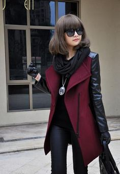 coats and jackets for women,red coat,women clothing,winter from Topboutique