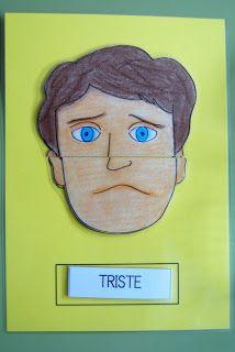 puzzle de les emocions Emotions Activities, Preschool Activities, Coping Skills, Social Skills, Gestalt Therapy, Educational Assistant, Deaf Children, Sensory Book, Social Thinking