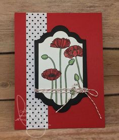 It\'s National Boss Day today. My boss likes poppies.  My coworkers and I are giving this handmade card and gift to her. #pleasantpoppies #greatestgreetings #lableralphabet #stampinup #literallymyjoy #papercrafting #cardmaking #stampinupdemonstrator #poppies #flowers #bossday #boss #shimmery #20162017AnnualCatalog #linkinprofile