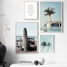 Getting Bored With Your Home? Use These Interior Planning Ideas – Lastest Home Design Beach Canvas, Beach Wall Art, Wall Canvas, Canvas Art, Metal Walls, Metal Wall Art, Plage Art Mural, Deco Surf, Wall Art Prints