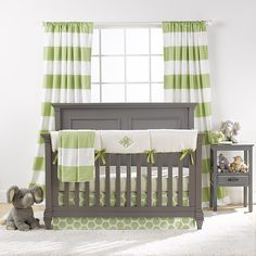 Gender neutral crib sets gender neutral baby bedding sets best cribs for baby images on babies . Crib Bedding Boy, Baby Bedding Sets, Crib Sets, Grey Crib, Best Crib, Green Bedding, Baby Decor, Kids Decor, Baby Cribs