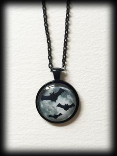 by WhisperToTheMoon on Etsy Goth Jewelry, Jewelery, Gothic Jewellery, Cameo Necklace, Glass Necklace, Small Necklace, Cameo Pendant, Grey Glass, Jewelry Collection