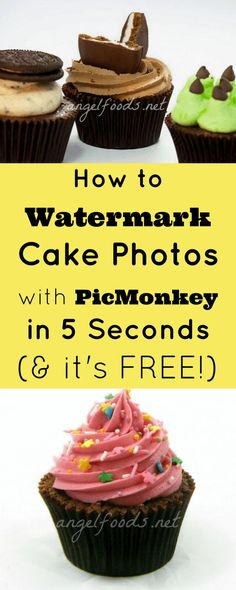 How to Watermark Cake Photos in 5 Seconds (& it's free!)   Watermarking a…