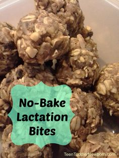 No bake (no cook) lactation bites that also boost energy! Healthy and delicious!
