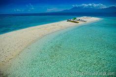The Sand Bar in Sumilon Island in Cebu Islamic Society, Philippines Beaches, Tourist Spots, Most Beautiful Beaches, Island Resort, Cebu, Archipelago, Countries Of The World, Scenery