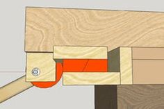 Homemade Table Saw Fence System Table Saw Fence, Homemade Tables, Diy Cutting Board, Woodworking Projects That Sell, New Crafts, Wood Projects, Workshop, Simple, Pictures