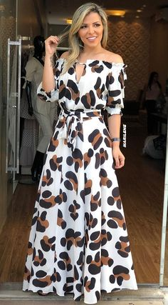 133 spring dresses you will definitely want to save – page 18 Ball Dresses, Ball Gowns, Trendy Dresses, Casual Dresses, Hijab Fashion, Fashion Dresses, Trendy Fashion, Womens Fashion, Modern Fashion