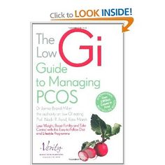 Low GI guide to managing pcos