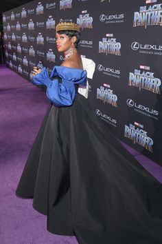 Recording artist Janelle Monae at the Los Angeles World Premiere of Marvel Studios' BLACK PANTHER at Dolby Theatre on January 29, 2018 in Hollywood, California.