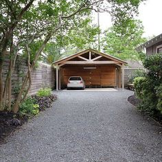I like the design--Garage And Shed Photos Carport Design Ideas, Pictures, Remodel, and Decor - page 3
