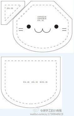 ATELIER CHERRY: Bolsa de gatinho