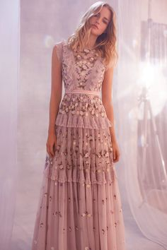 New for Spring/Summer the Prism Ditsy Gown in Lilac is the perfect style f… Party Fashion, Boho Fashion, Couture Dresses, Fashion Dresses, Needle And Thread Dresses, Looks Party, Evening Dresses, Prom Dresses, Vetement Fashion