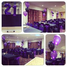 #nicheevents #amazing #all_shots ##balloons #birthday #balloonclusters #bestoftheday #coleviewcentre #decoration #eventplanner #follow #featured #follow4follow #happybirthday #celebrations #party #21st #party #purpleandblacktheme #chaircovers #instalike #