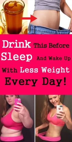 Drink This Before Sleep And Wake Up With Less Weight Every Day!