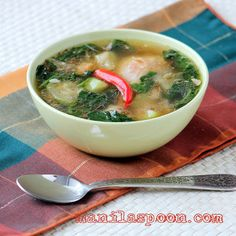Tinolang Manok (Opo Squash and Ginger Chicken Soup) | Manila Spoon