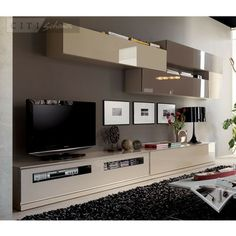 Wall Units &TV Stands Moblec Impersonal Wall Unit