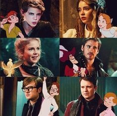 OUAT x Peter Pan Everyone is cooler than in the disney movies. Best Tv Shows, Best Shows Ever, Favorite Tv Shows, Once Upon A Time Funny, Once Up A Time, Once Upon A Time Peter Pan, Movies Showing, Movies And Tv Shows, Robbie Kay