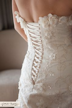 some detail on the Maggie Sottero Rhianna Royale wedding gown