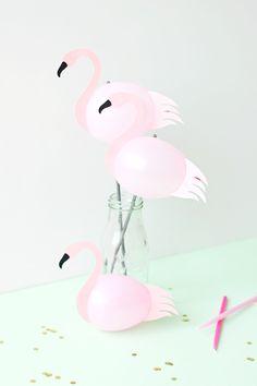 Cómo hacer Flamencos con globos : Si te gusta la temática Flamenco para decorar una fiesta de cumpleaños u otro tipo de celebración hoy compartimos un interesante tutorial. Aprende a fabric