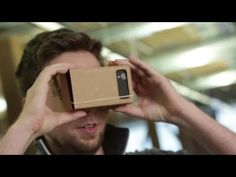 I Am Cardboard - Poor Man's Virtual Reality Headset - GetdatGadget Virtual Reality Education, Virtual Reality Headset, Augmented Reality, Technology Lessons, Science And Technology, Google Vr Cardboard, Virtual Field Trips, Software, Google Glass