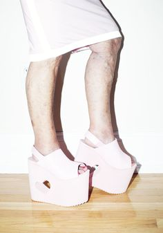 Platforms and cutouts. http://www.thecoveteur.com/baddie-winkle/