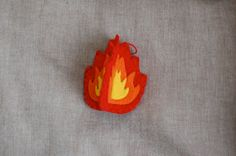 fig tree freedom: Jesse Tree ornament December 19: fire