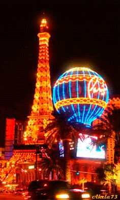 Traffic by Paris Las Vegas - Animation Foto Gif, Gif Photo, Gif Pictures, Moving Pictures, Beau Gif, Beautiful Gif, Cool Animations, Op Art, Animated Gif