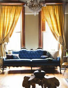 from rue magazine:   photo by jamie beck interior design by ishka designs