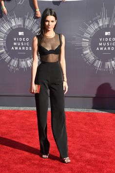 Black transparent and highwaist Foto: Getty images