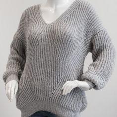 1698 – Sweater in fisherman's rib in Mayflower Easy Care Cotton Merino. from Mayflower Crochet Stitches Free, Knit Or Crochet, Crochet Shawl, Crochet Hooks, Sweater Coats, Ribbed Sweater, Men Sweater, Sweaters, Sweater Knitting Patterns