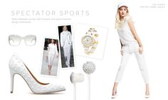 Sport your whites!