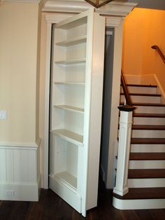 Traditional Staircase Storage Design, Pictures, Remodel, Decor and Ideas - page 4
