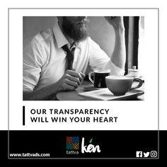 Our Transparency Will Win Your Heart - Ken Communication  #dontworry #advertising #promotion #branding #brandidnetity #creative #designing #entrepreneurs #branding101 #logo #logodesign #startuplife #events #radio #newspaper #hoardings #socialmedia #ahmedabad #ken #communication #facebook #instagram #twitter #pinterest