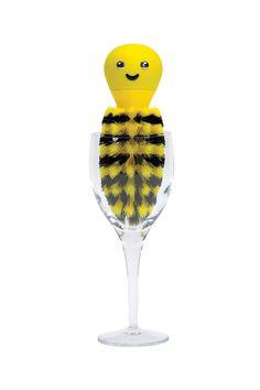 Bee Glass Brush