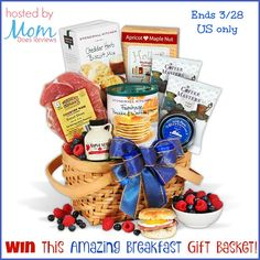 This Tasty Giveaway is sponsored by Gourmet Gift Baskets and hosted by Mom Does Reviews and friends Breakfast is my favorite meal! So I'm super excited to be a part of this great breakfast gift basket giveaway! Help them celebrate Easter with a different kind of basket this year. Inside this adorable picnic basket are …
