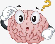 Cartoon cerebro linea corto circuito, Corto Circuito Del Cerebro, Pensando En PNG, Ser Confundido Imagen PNG