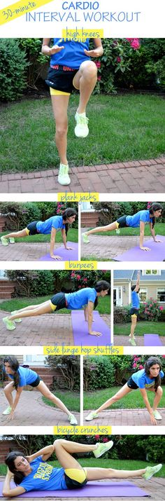 30-Minute Cardio Interval Workout